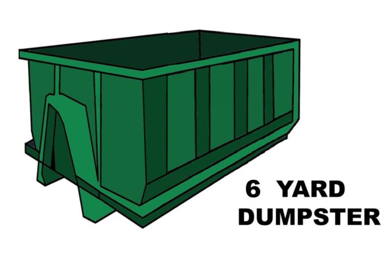 6 Yard Dumpster